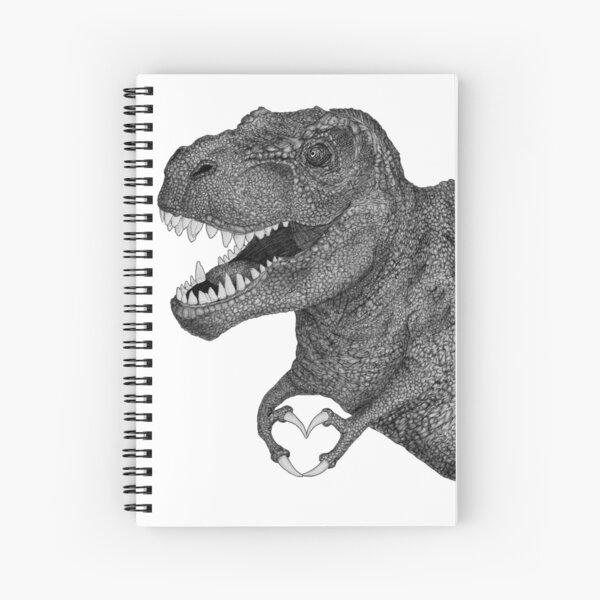 Dino Love Spiral Notebook