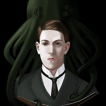 H P Lovecraft by Elenanaylor