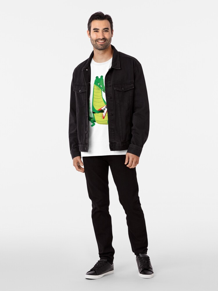 Alternate view of Crocodile Rock Premium T-Shirt