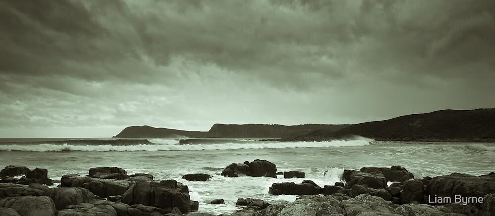 Left Empty - Bruny Island, Tasmania by Liam Byrne