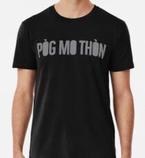 Pòg mo Thòn - Black Men's Premium T-Shirt