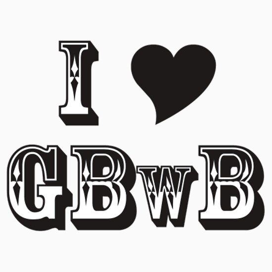 TShirtGifter presents: GBwB 'Love' Logo