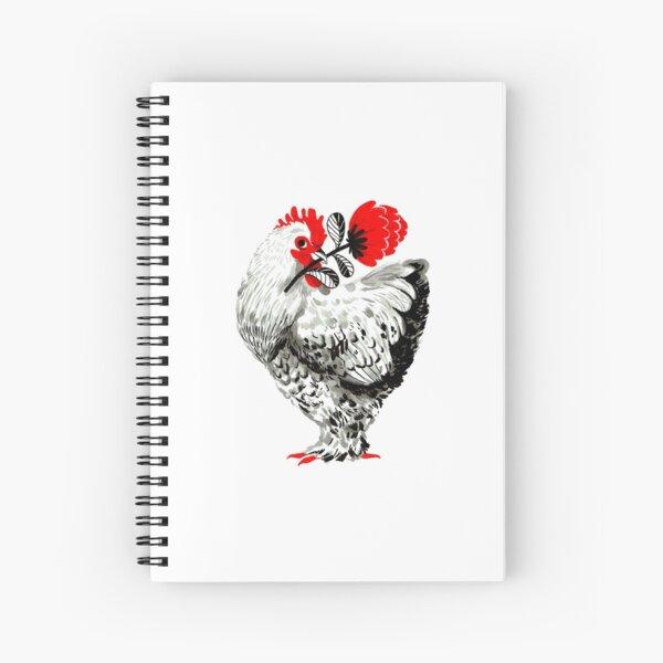 Cochin Hen Spiral Notebook
