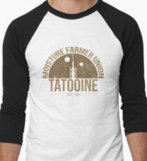 Moisture Farmer Union (brown) Baseball ¾ Sleeve T-Shirt