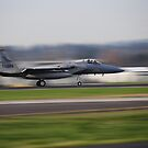 Oregon Air Guard F-15 Scrambled by Bob Hortman