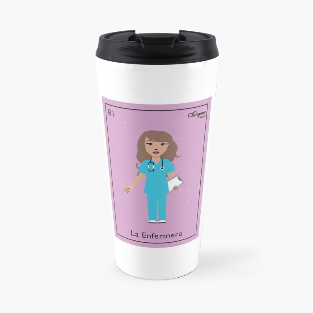 La Enfermera #2 Travel Mug