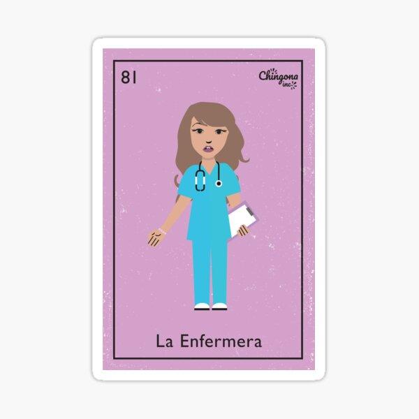 La Enfermera # 2 Pegatina