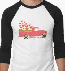 Valentine's Truck Baseball ¾ Sleeve T-Shirt