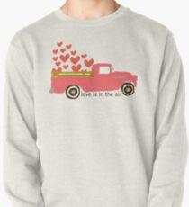 Valentine's Truck Pullover Sweatshirt