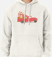 Valentine's Truck Pullover Hoodie
