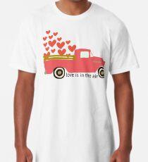 Valentine's Truck Long T-Shirt