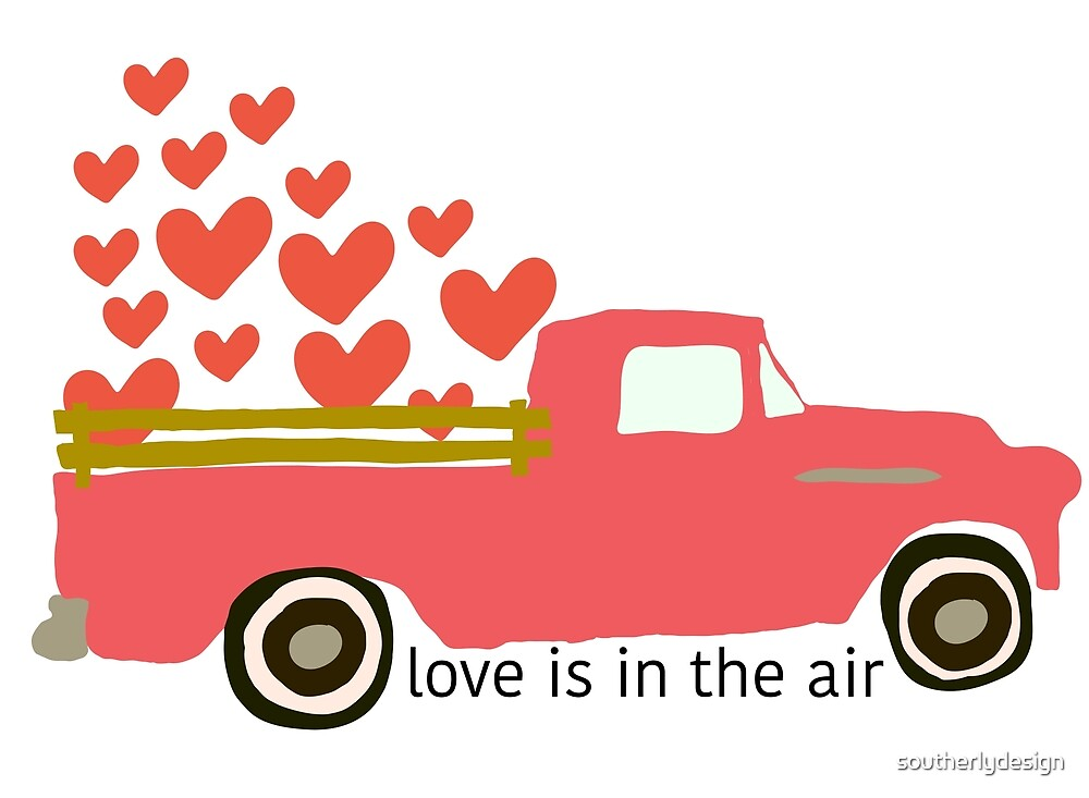 Valentine's Truck by southerlydesign