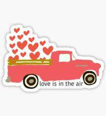 Valentine's Truck Sticker
