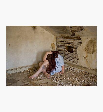 Raw Emotion - Self Portrait Photographic Print