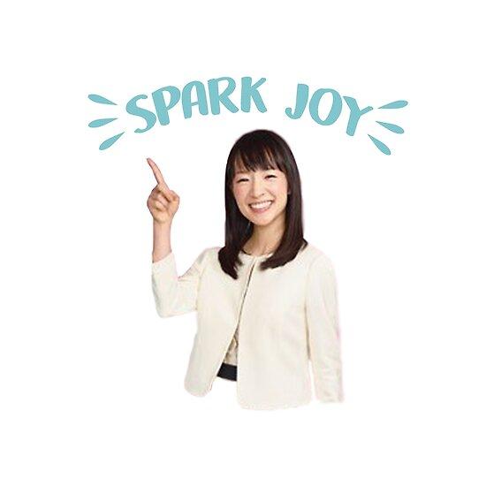 Resultado de imagem para marie kondo spark joy