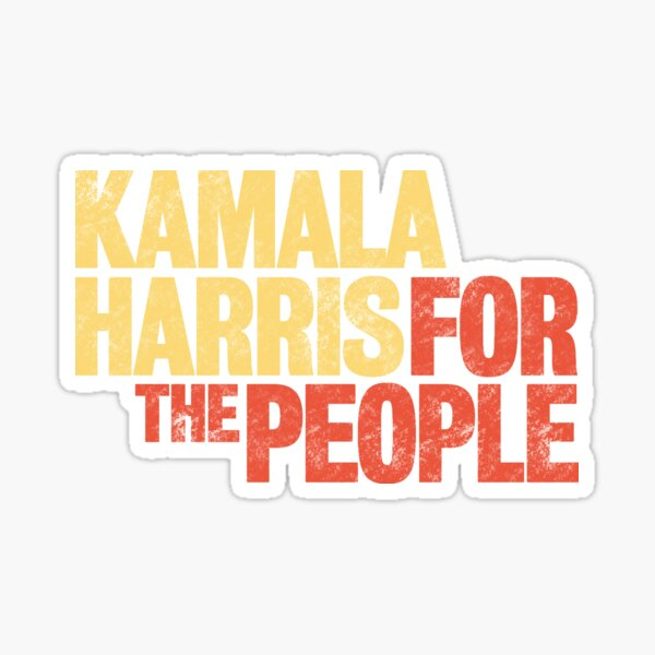 Kamala Harris for the People 2020 President Campaign Sticker