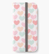 Hearts iPhone Wallet/Case/Skin