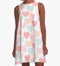 Hearts A-Line Dress