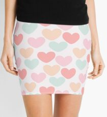 Hearts Mini Skirt