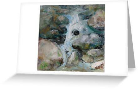 Waterfall by Stella  Shube As