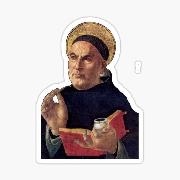 Thomas Aquinas Sticker