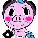 """Year of The """"DJ"""" Pig - Chinese Lunar New Year. by Wave Lords United"""
