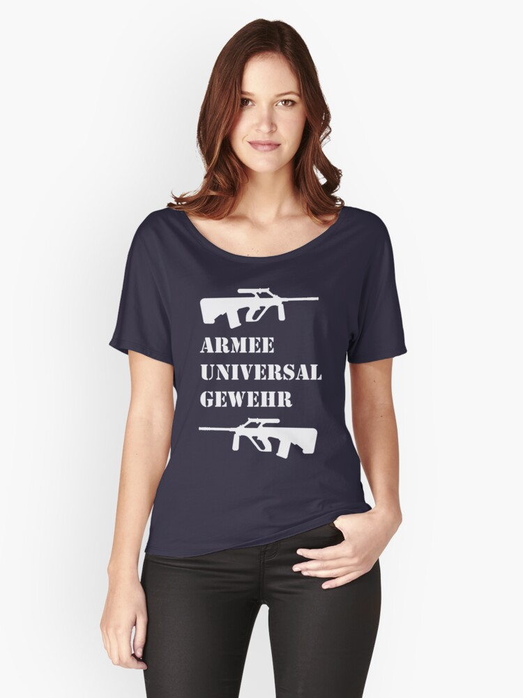ARMEE UNIVERSAL GEWEHR (AUG) Women's Relaxed Fit T-Shirt Front