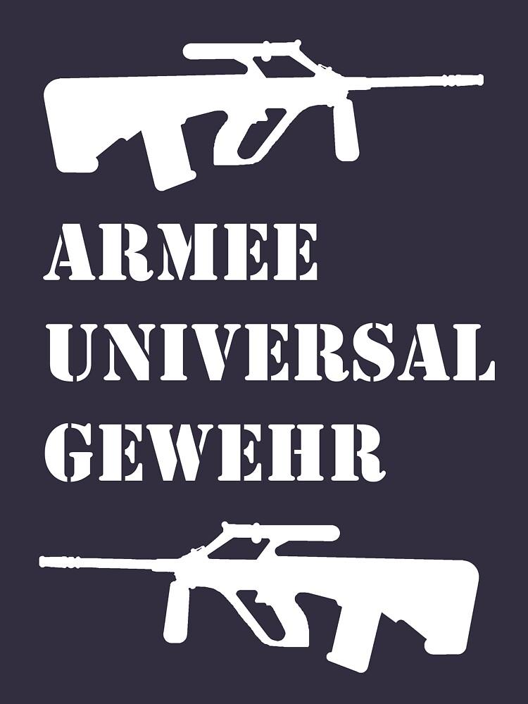ARMEE UNIVERSAL GEWEHR (AUG) by gb96
