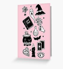 Witchy Woes Greeting Card
