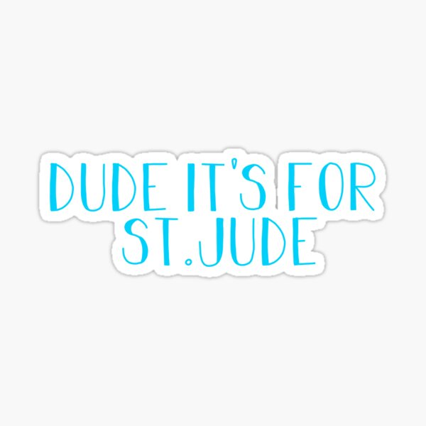 St. Jude Sticker