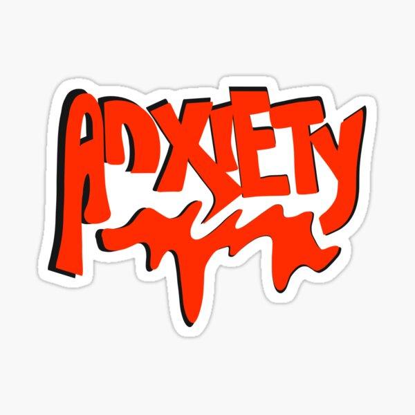Anxiety  Sticker
