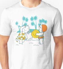 Girls at the Beach Unisex T-Shirt