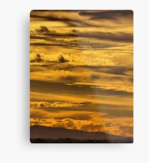 Layer Upon Layer Metal Print