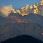 Annapurna South foothills, Nepal by Kevin McGennan