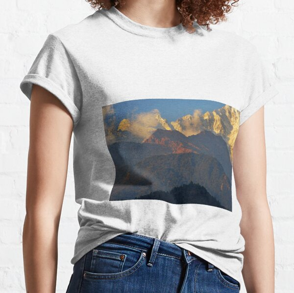 Annapurna South foothills, Nepal Classic T-Shirt