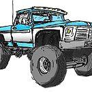 «Etiqueta engomada levantada del camión» de Statepallets