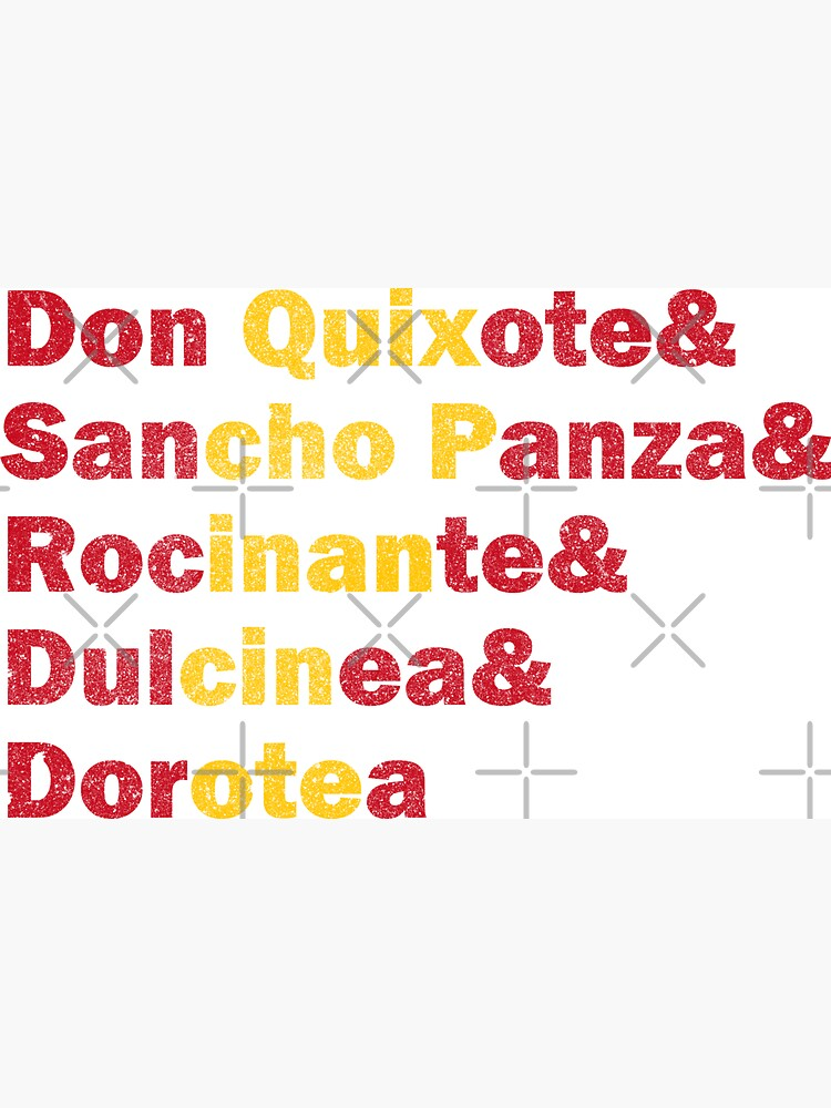 Don Quixote - Characters by PrintablesP