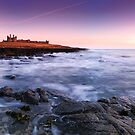 Dunstanburgh Castle, Dawn by Simon Bowen