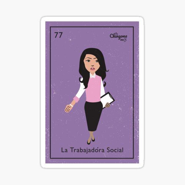 La Trabajadora Social # 2 Pegatina