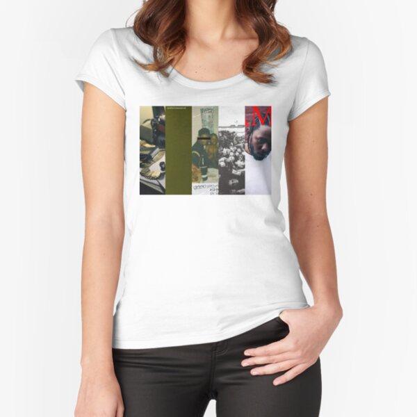 Kendrick lamar Fitted Scoop T-Shirt
