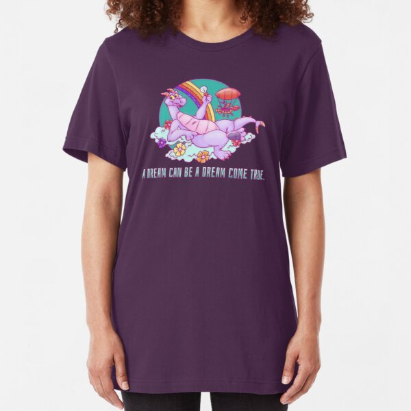 Dreamy Dragon  Slim Fit T-Shirt