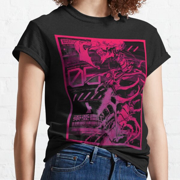 SYNTHETIC HUMAN (Neon) - Biomega Inspired Graphic Classic T-Shirt