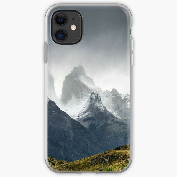 Los Cuernos, The Horns of Patagonia iPhone Soft Case