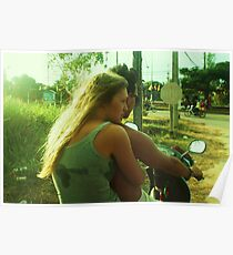 Motorbike Love Poster
