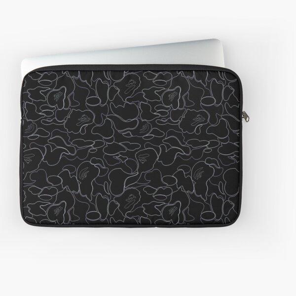 Bape noir Housse d'ordinateur