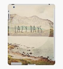 Lazy Days (Ireland) iPad Case/Skin