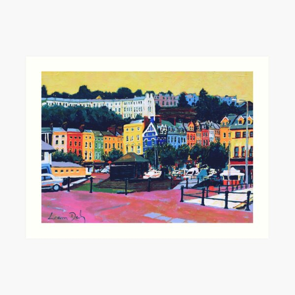 Cobh V (County Cork, Ireland) Art Print