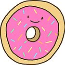Happy Doughnut Sticker by lizzyisanonion