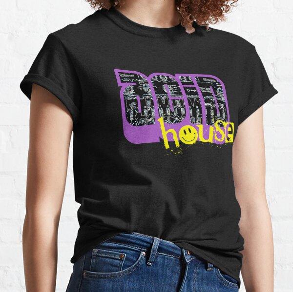 Acide TB303 T-shirt House Music T-shirt Club old school DJ rave hardcore