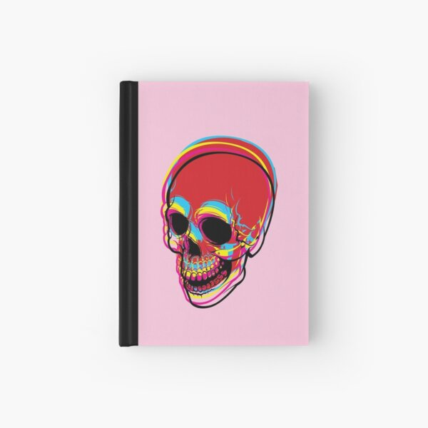 INSIDE OF ME THERE IS A CMYK SKULL FOR PRINT Hardcover Journal